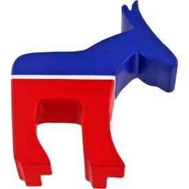 Personalized Democratic Donkey Stress Ball