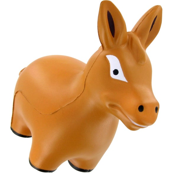 Brown Donkey Stress Toy