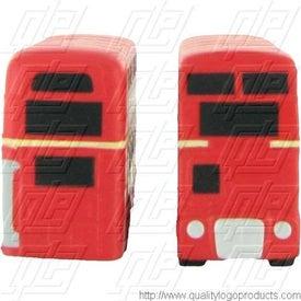 Logo Double Decker Bus Stress Ball