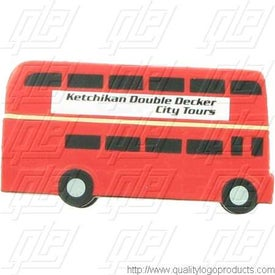 Personalized Double Decker Bus Stress Ball