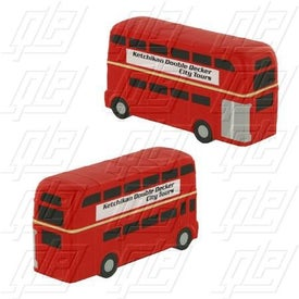 Double Decker Bus Stress Ball