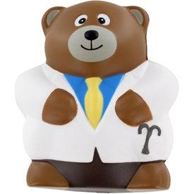 Physician Bear Stress Ball
