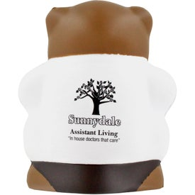 Logo Physician Bear Stress Ball