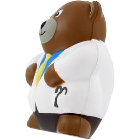 Custom Physician Bear Stress Ball