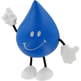 Printed Droplet Figure Stress Ball