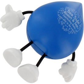 Droplet Figure Stress Ball for Promotion