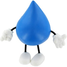 Imprinted Droplet Figure Stress Ball