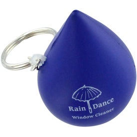 Droplet Keychain Stress Ball for Your Church