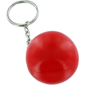 Imprinted Droplet Keychain Stress Ball