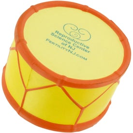 Drum Stress Reliever Imprinted with Your Logo