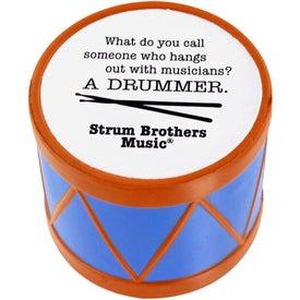 Monogrammed Drum Stress Ball