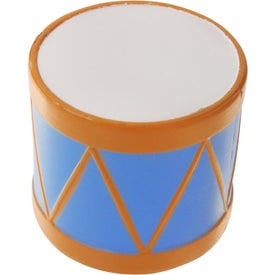 Branded Drum Stress Ball