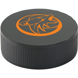 D'Stress-It Hockey Puck Stressball