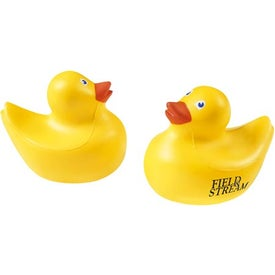 Ducky Stress Ball Printed with Your Logo
