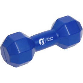 Dumbbell Stress Ball for Your Organization