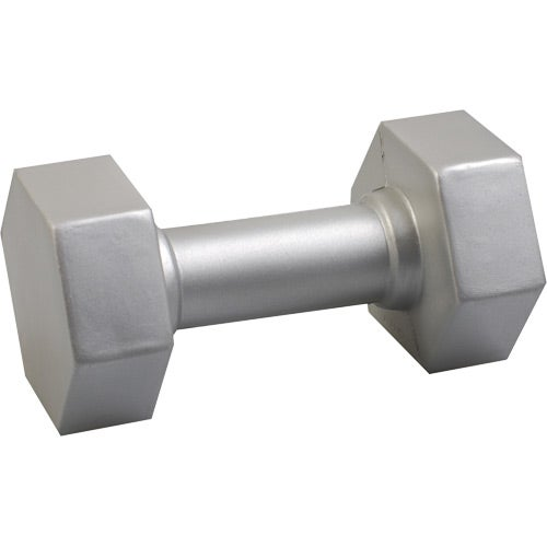 Silver Dumbbell Stress Reliever