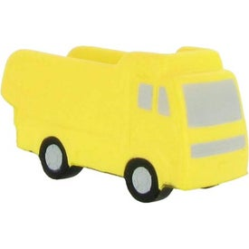 Dump Truck Stress Ball with Your Slogan