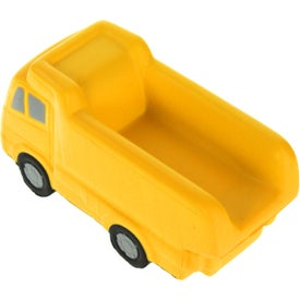 Dump Truck Stress Ball for Advertising