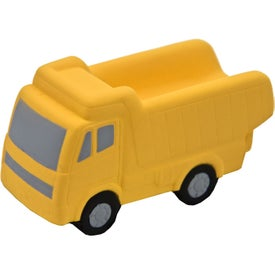 Dump Truck Stress Toy Branded with Your Logo