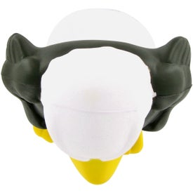 Eagle Mascot Stress Ball for Advertising