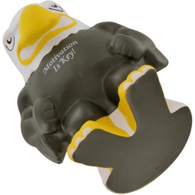 Eagle Mascot Stress Ball for your School