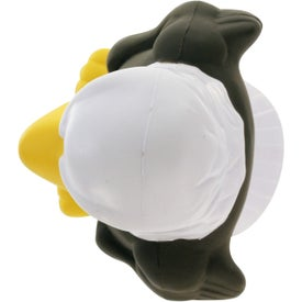 Promotional Eagle Mascot Stress Ball