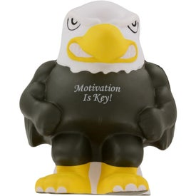 Eagle Mascot Stress Ball