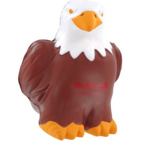 Branded Eagle Stress Reliever