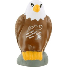 Eagle Stress Ball with Your Slogan