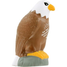 Eagle Stress Ball Imprinted with Your Logo