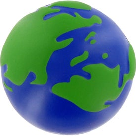 Earth Ball Stress Toy Printed with Your Logo