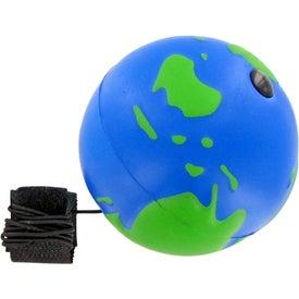 Logo Earth Ball Yo-Yo Stress Toy