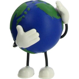 Advertising Earth Bendy Stress Reliever