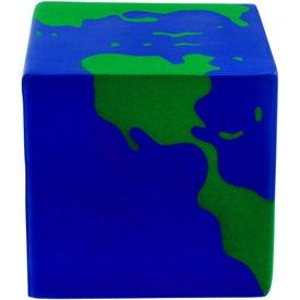 Custom Earth Cube Stress Ball