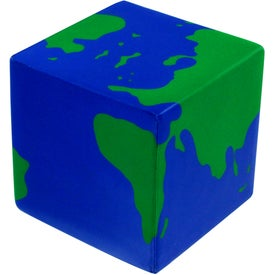 Company Earth Cube Stress Ball