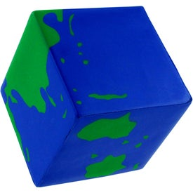 Earth Cube Stress Ball Giveaways