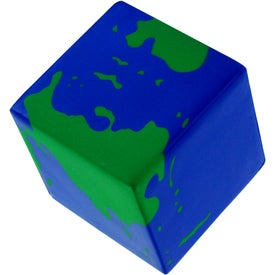 Earth Cube Stress Ball