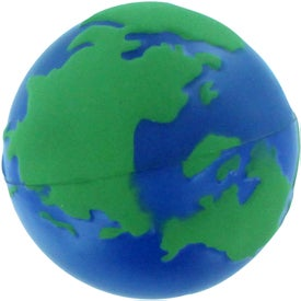 Earth Stress Reliever with Your Slogan