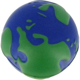 Earth Stress Ball Printed with Your Logo