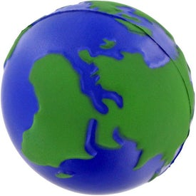 Earth Stress Ball with Your Logo
