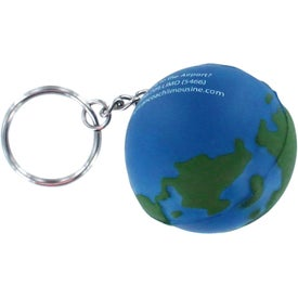 Earth Stress Reliever Keyring Giveaways