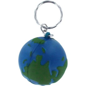 Earth Stress Reliever Keyring for Marketing