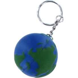 Earth Stress Reliever Keyring for Promotion