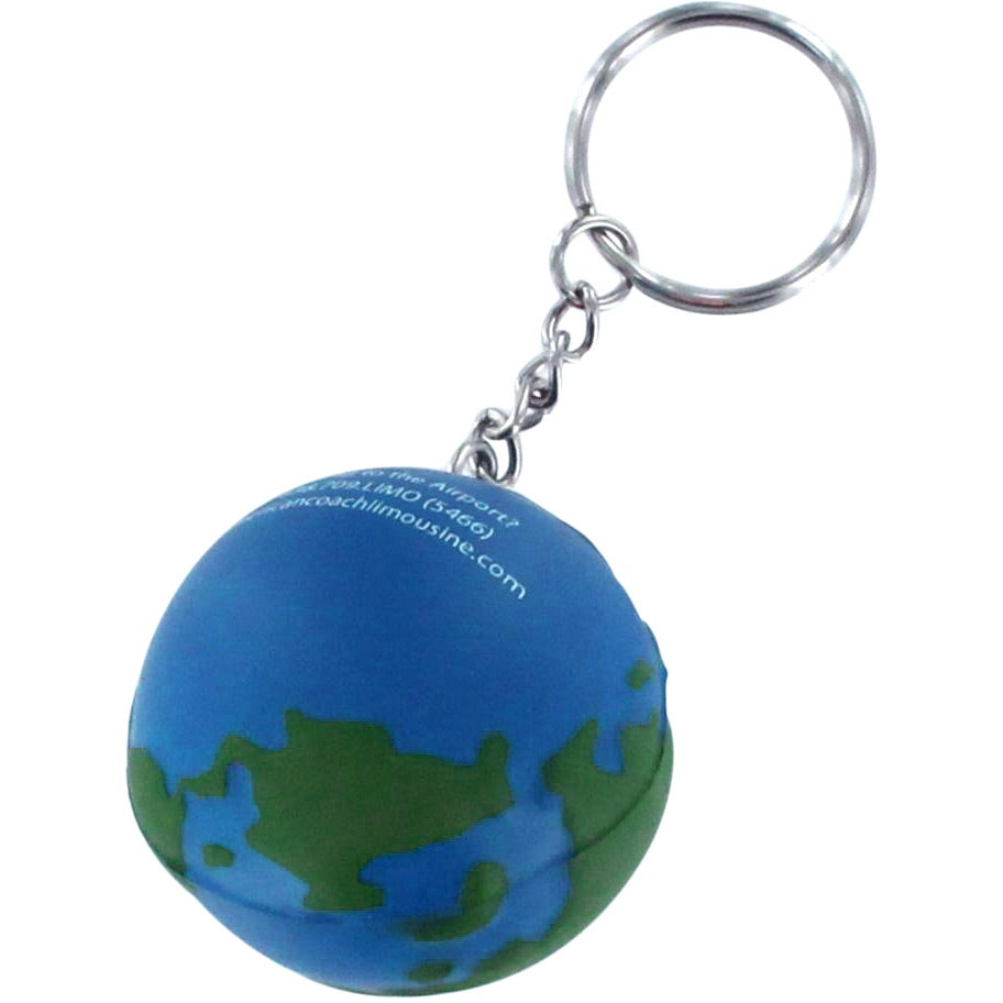 Promotional earth stress reliever keyrings with custom logo for detailed photo of earth stress reliever keyring gumiabroncs Gallery