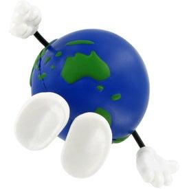 Advertising Earthball Figure Stress Ball