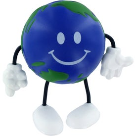 Earthball Figure Stress Ball for Your Company