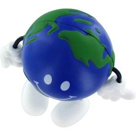 Monogrammed Earthball Figure Stress Ball
