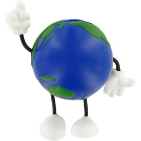 Earthball Figure Stress Ball for Advertising