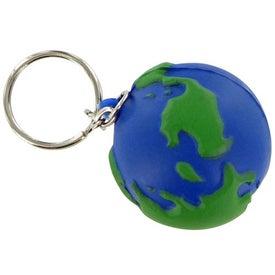 Earthball Keychain Stress Toy