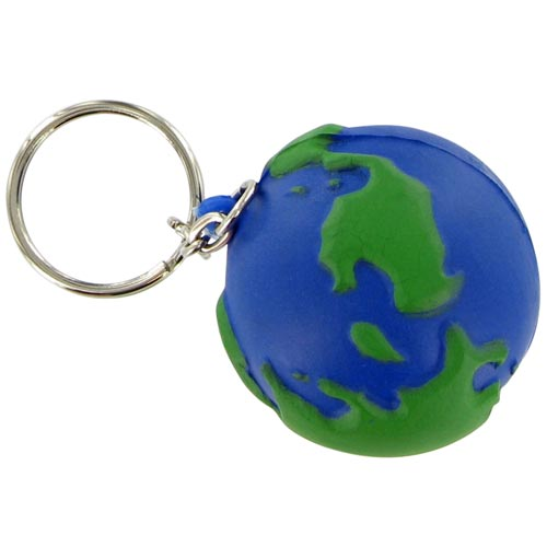 Earthball Keychain Stress Toy